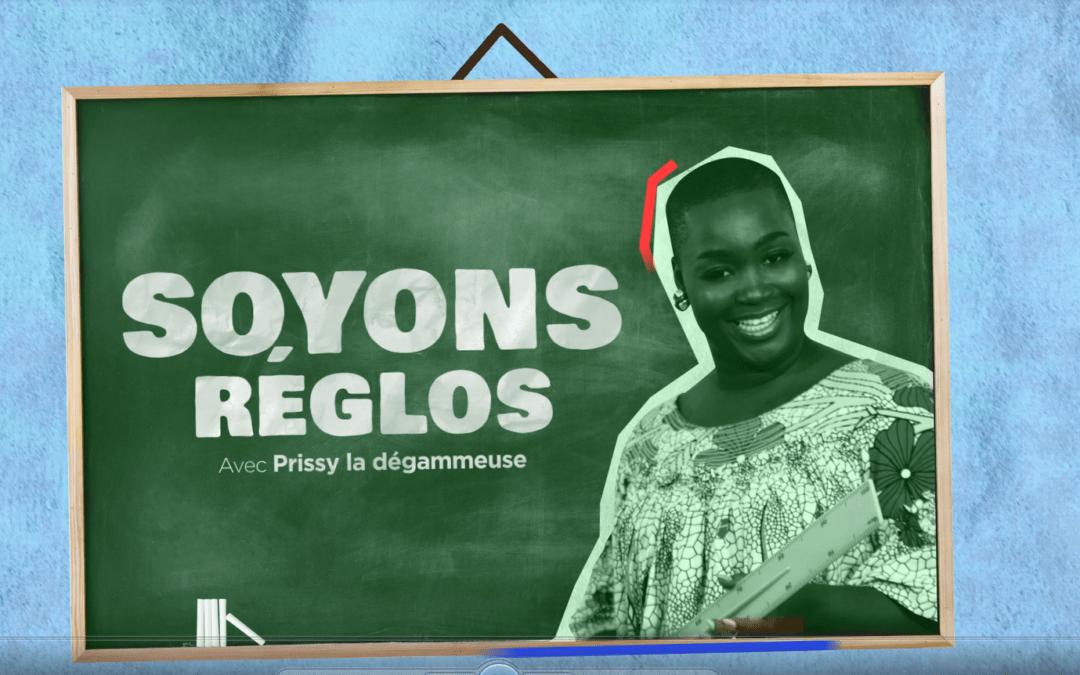Soyons Réglos, la mini-série qui démonte les clichés sur les règles